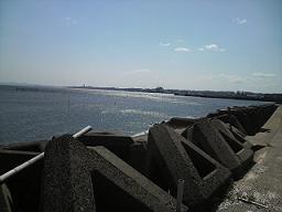 またも海~!