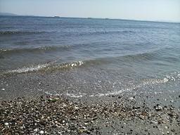 そして海~!