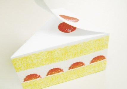 ショートケーキのメモパッド