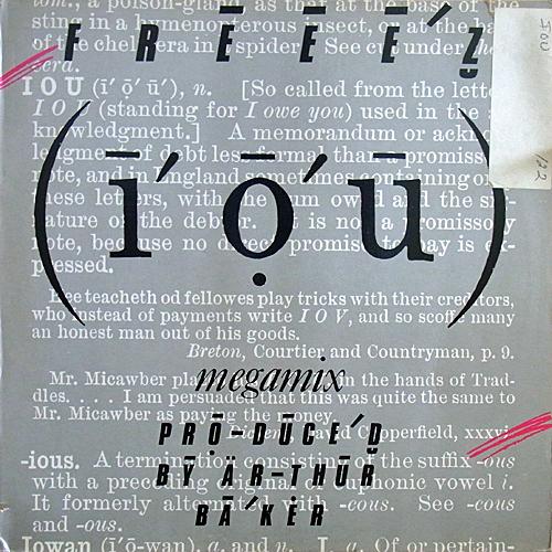 "Freeez ""I.O.U.(Megamix)"" (Beggars Banquet ..."
