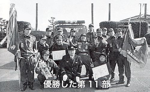 平成22年消防出初式優勝!
