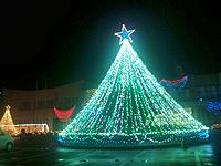 10'クリスマスイルミネーション@国富町