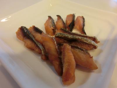 鮭のジャーキー