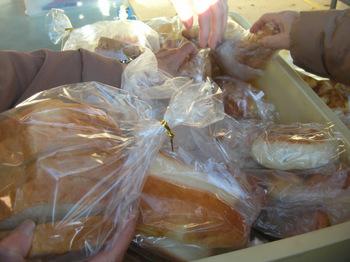 一袋160円のパン