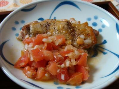 トマト柚子コショウ♪
