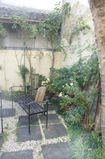 素敵な中庭だな~と・・