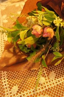 花束を・・