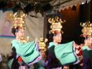 高校生の山鹿灯篭踊り
