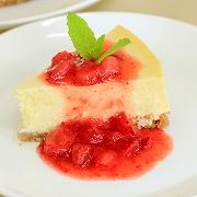 ニューヨークチーズケーキ&苺ソースセット