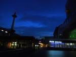 朝早くの京都駅