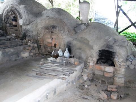 韓国陶窯 登り窯