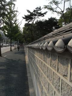 朝鮮王陵 宣陵・靖陵 外壁2