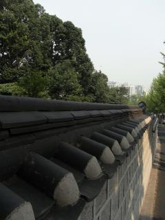 朝鮮王陵 宣陵・靖陵 外壁1