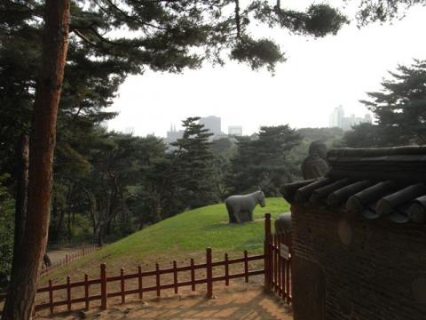 朝鮮王陵 宣陵・靖陵 陵内1