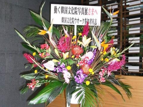 感謝の気持ちを込めた生花