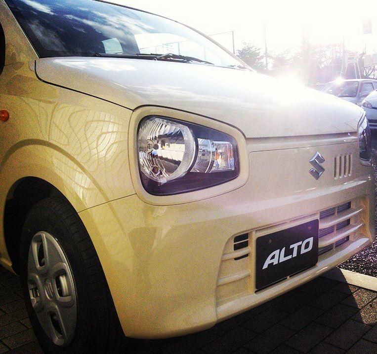 新型アルト 実車5