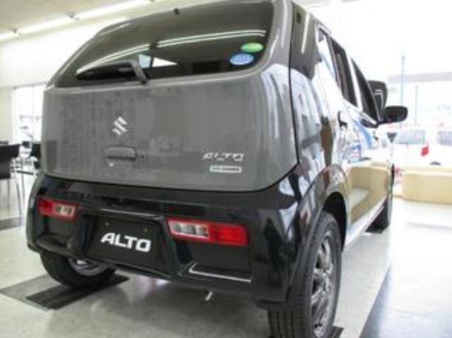 新型アルト 実車 黒3