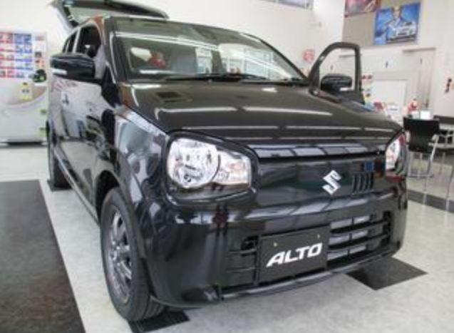 新型アルト 実車 黒2