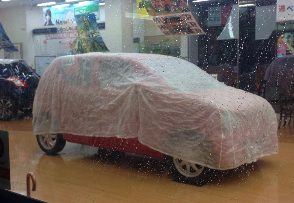 新型アルト 展示車