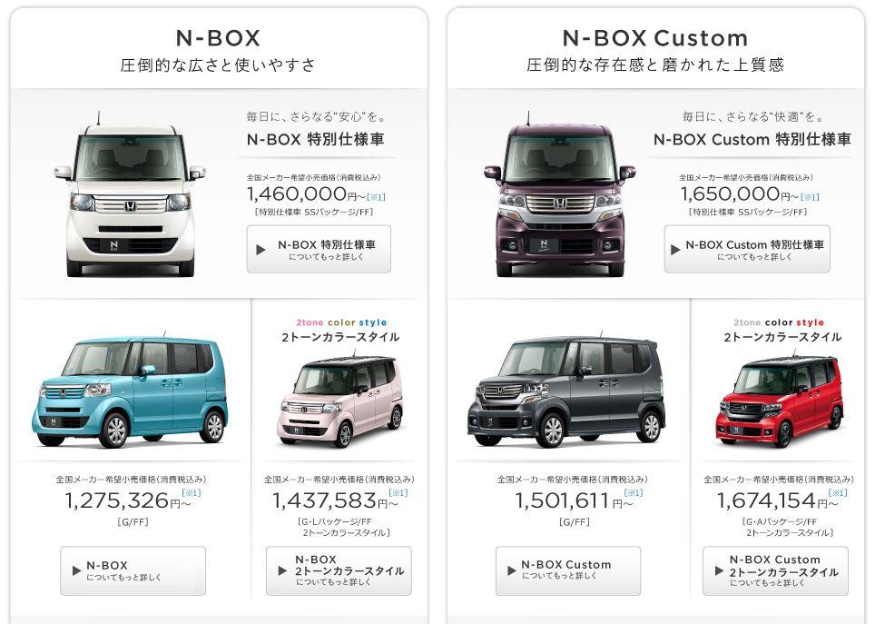 N-BOX価格