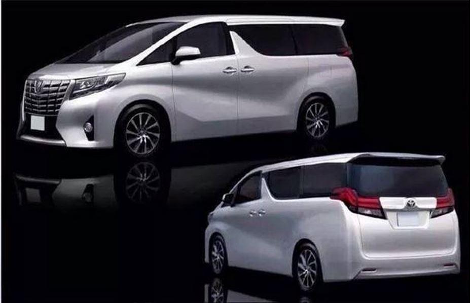 トヨタ 新型アルファード 2015 2