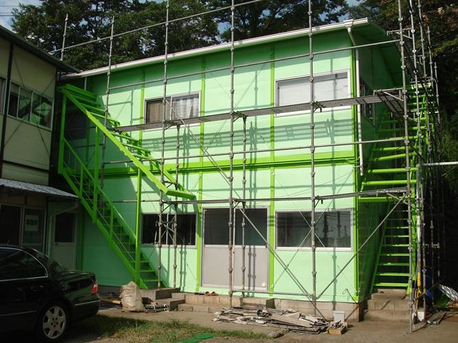mk2-2 工事中 塗装完了