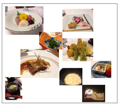 ビューホテル夕食