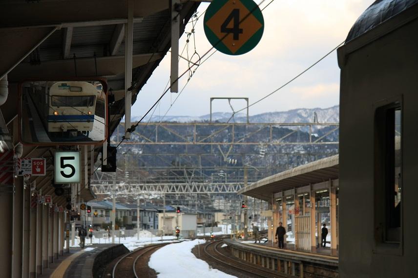 敦賀駅にて、1