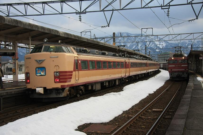 敦賀駅にて、2