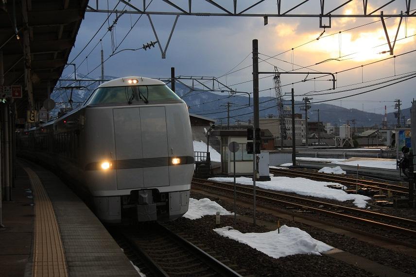 敦賀駅にて、3