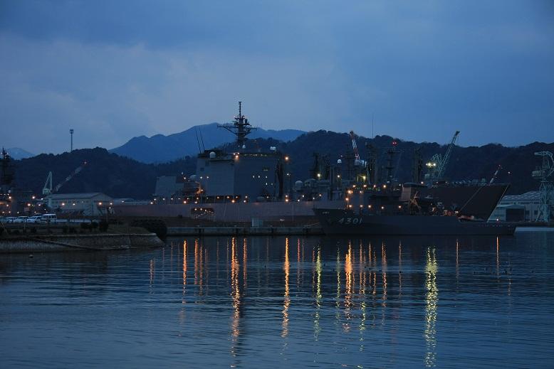 舞鶴港、1
