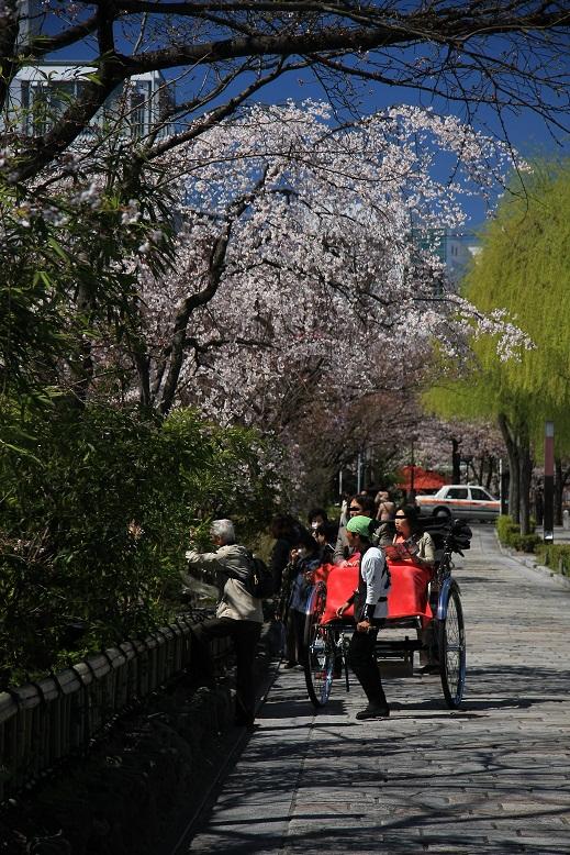 京都祇園にて、2