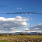 琵琶湖からの鈴鹿山系