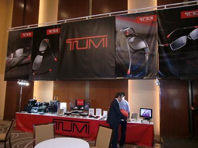 TUMI展示会