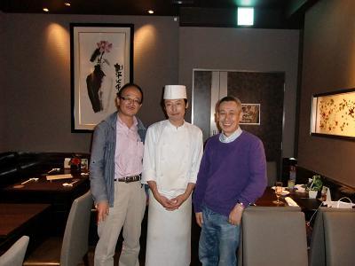 メイファ料理長と瀬谷さんと