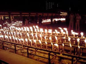 四天王寺 盂蘭盆会万灯供養法要 2012