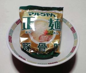マルちゃん 正麺 豚骨味(パッケージ)