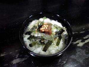 ○丈 紀州 締めのお茶漬け風ご飯