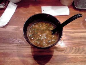 みつ星製麺所 つけ麺(スープ割り)