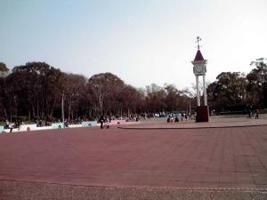 大泉緑地 2012 わんぱくランド(時計のある広場)
