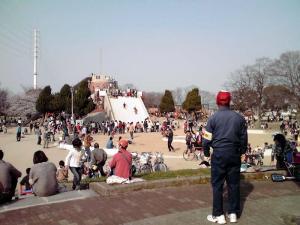 大泉緑地 2012 冒険ランド(巨大すべり台)