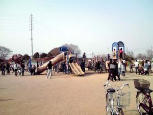 大泉緑地 2012 冒険ランド(アスレチック)