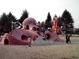 大泉緑地 2012 海遊ランド(たこさんすべり台)