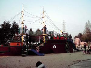 大泉緑地 2012 海遊ランド(船の遊具)