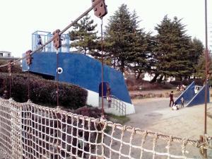 大泉緑地 2012 海遊ランド(つり橋とくじらさん)