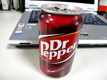 懐かしのドクターペッパー