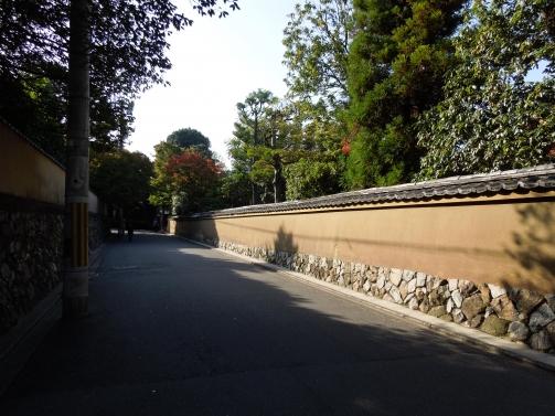 東福寺への道