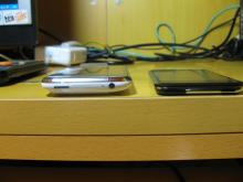 iPhoneとiPod touchの比較