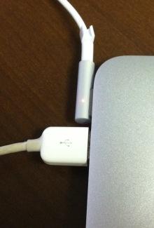 Macなど、デジタルガジェットとか-MagSafe1