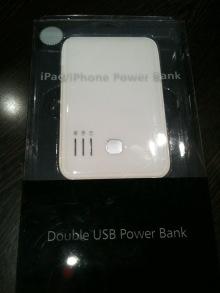 Macなど、デジタルガジェットとか-Double USB Power Bank 1
